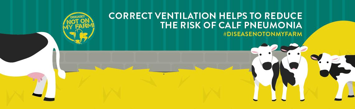 Disease? Not On My Farm! ventilation infographic