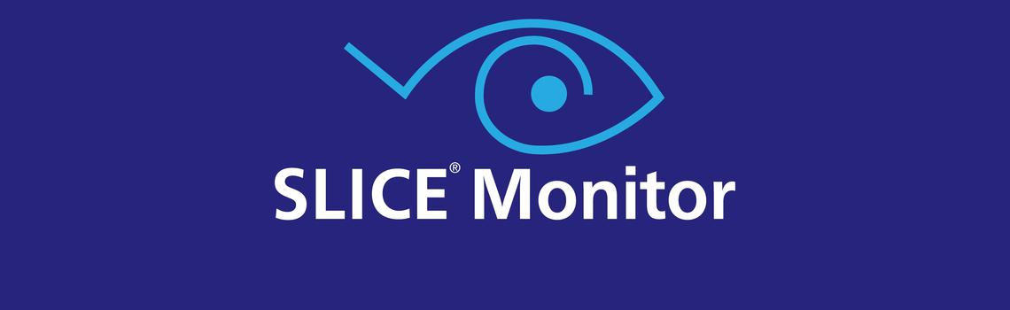 SLICE MONITOR LOGO