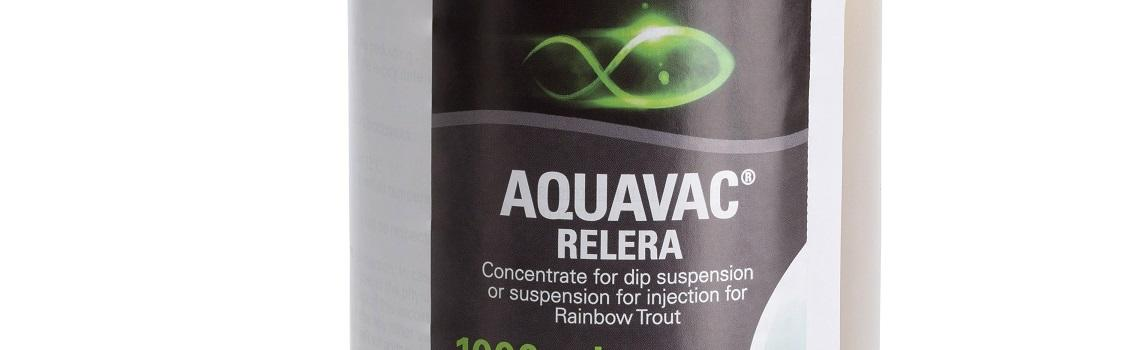 Zoomed in image of AquaVac RELERA bottle showing product name