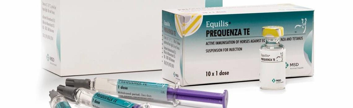 Equilis Prequenza Te®, Suspension for injection for horses banner
