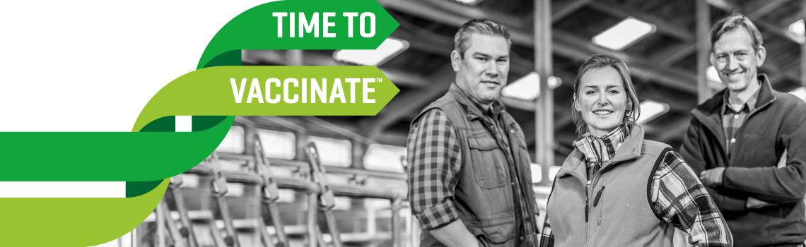 Image of farmers heading the MSD Animal Health Time to Vaccinate – Looking Beyond Antibiotics white paper.