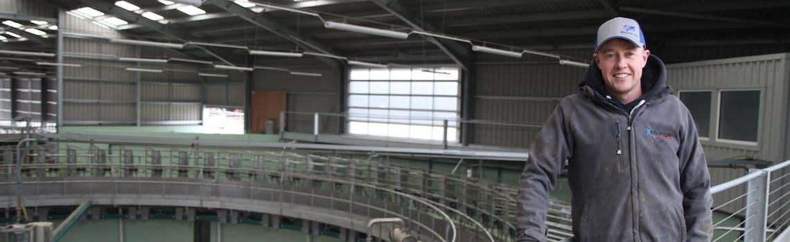 Boosting production in new dairy herd