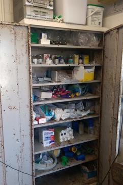 Image of a farm medicine cupboard