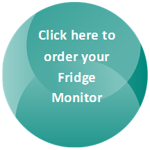 Order button for AQUAVAC fridge monitor.
