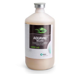 Image of AquaVac RELERA bottle from MSD Animal Health