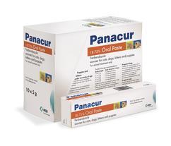 Image showing Panacur® 18.75 % Oral Paste packaging