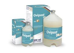 Image of Ovipast Plus cardboard carton, from MSD Animal Health