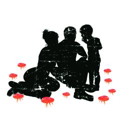 Big Flea Project flea risk imagery - family