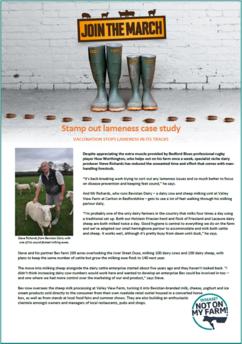 Image of DNOMF sheep lameness case study Steve Richards