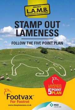 Footvax vaccination planner and lameness control plan