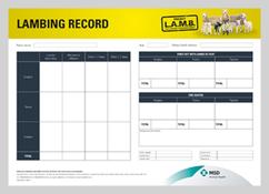 Image of Project LAMB lambing record