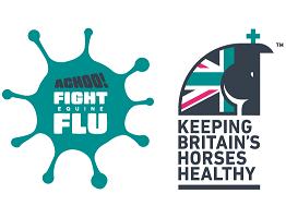 Image of achoo fight equine flu campaign logo and KBHH logo