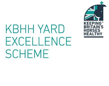 Keeping Britain's Horses Healthy Yard Excellence Scheme
