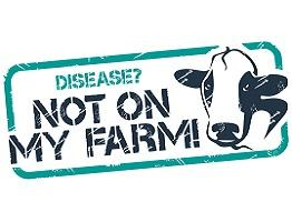 Disease? Not On My Farm! logo