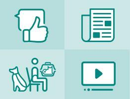 Image of marketing resources icons