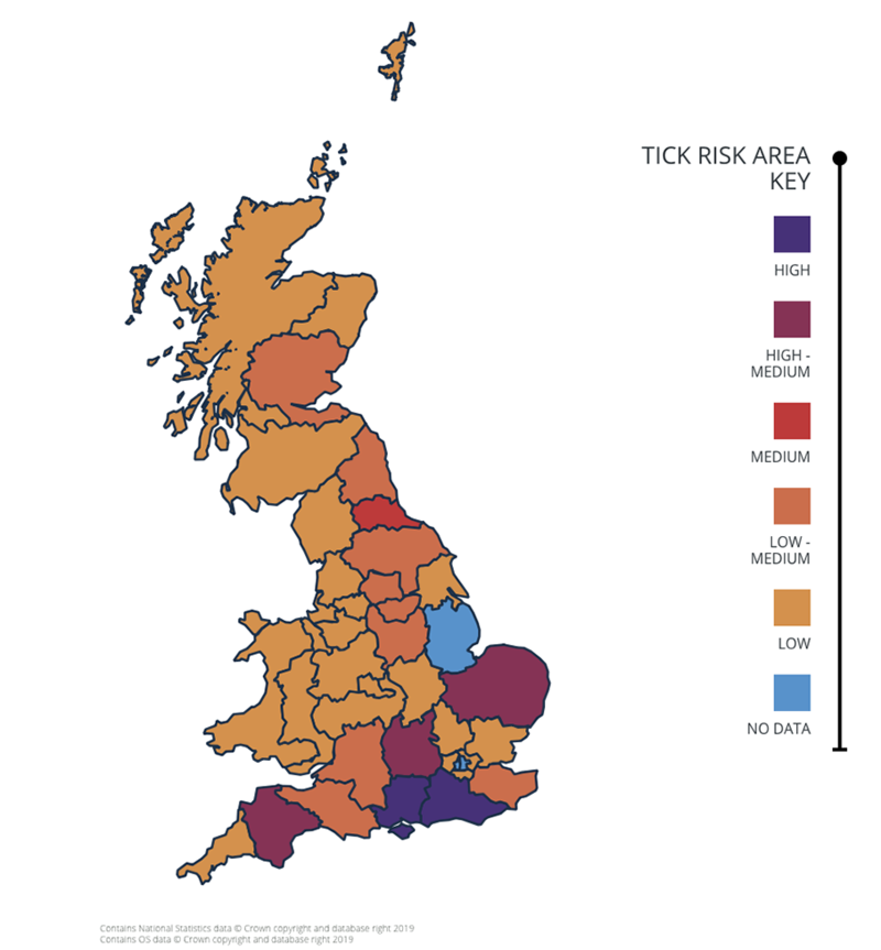pet disease risk map dog cat vaccination
