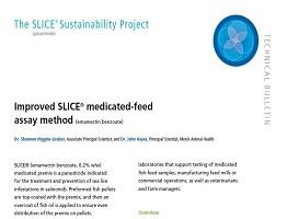 Image of Improved SLICE medicated feed assay Technical Bulletin