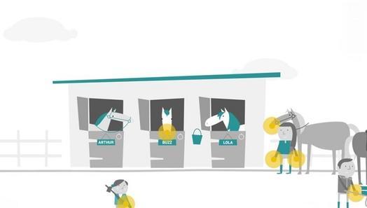 Keeping Britain's Horses Healthy 'Importance of Handwashing' animation image