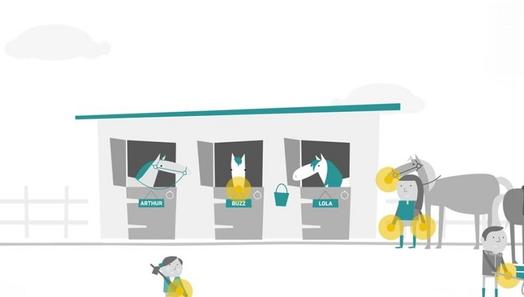 Keeping Britain's Horses Healthy 'Importance of Handwashing' animation image