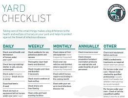 Image of Keeping Britain's Horses Healthy yard checklist
