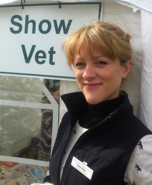 Image of University of Bristol vet, Dr Gwen Rees