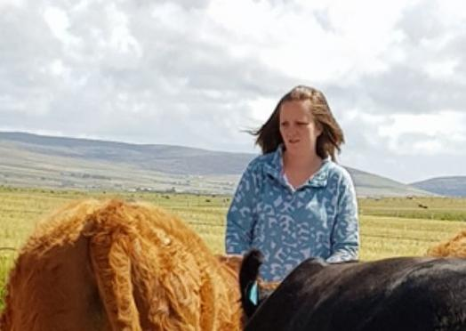 Image of Alison Ritch, an Orkney beef farmer