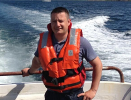 Image of MSD Animal Health Technical Manager Aquaculture Liam Doherty