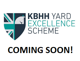 Image of the KBHH Yard Excellence Scheme logo and text with coming soon