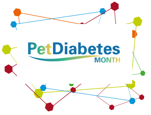 Image of the Pet Diabetes Month logo