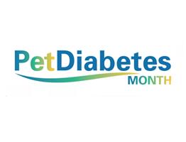 Image of Pet Diabetes Month logo