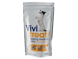 Image of Vivitreats pack containing 30 tablets