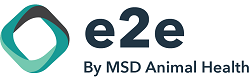 Image of e2e by MSD Animal Health logo