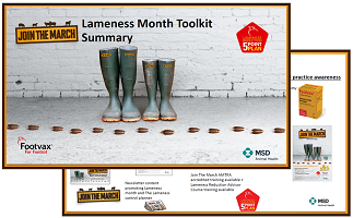 Image of the join the march digital toolkit summary