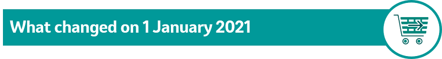 Image of text what changed on 1 January 2021